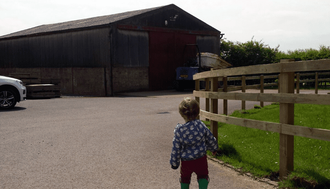 Self build with a young family