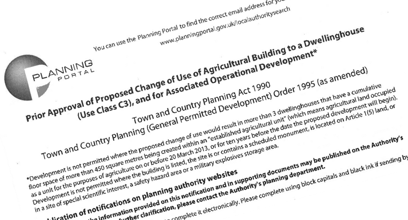 Permitted Development – Agricultural to Residential